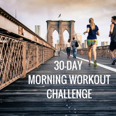 30 Day Morning Workout Challenge
