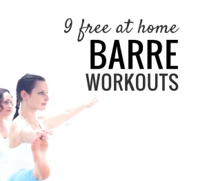9 free at home barre workouts to include in your exercise routine and get results fast! | www.beautybites.org