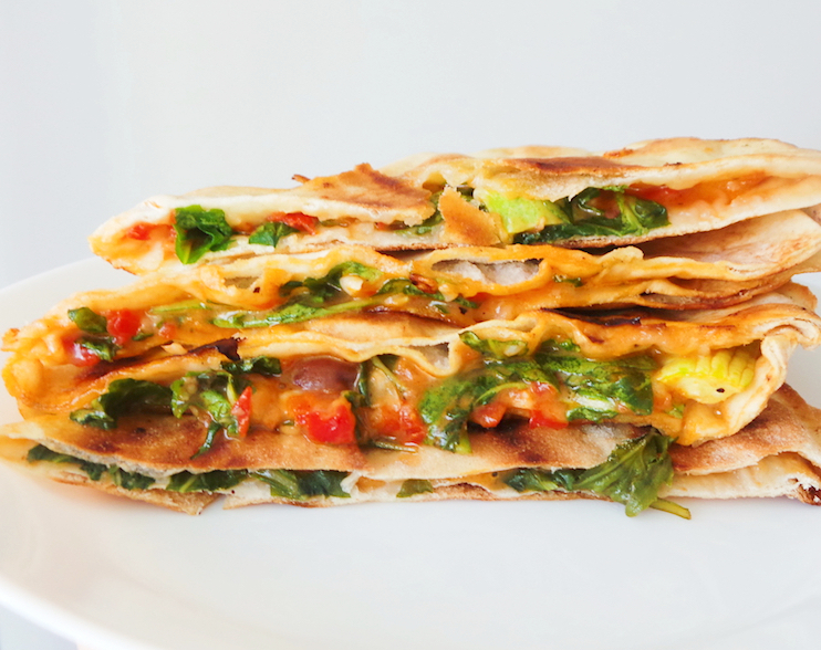 10-Minute Easy Pizza Quesadillas