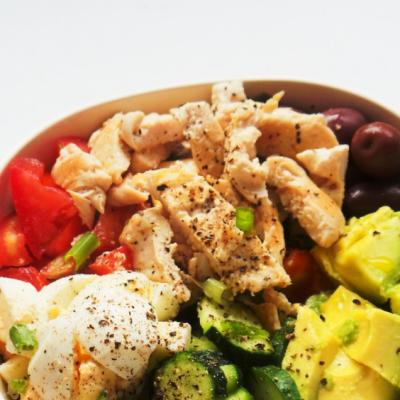 Avocado Chicken Salad   Meal Prep + Low Carb