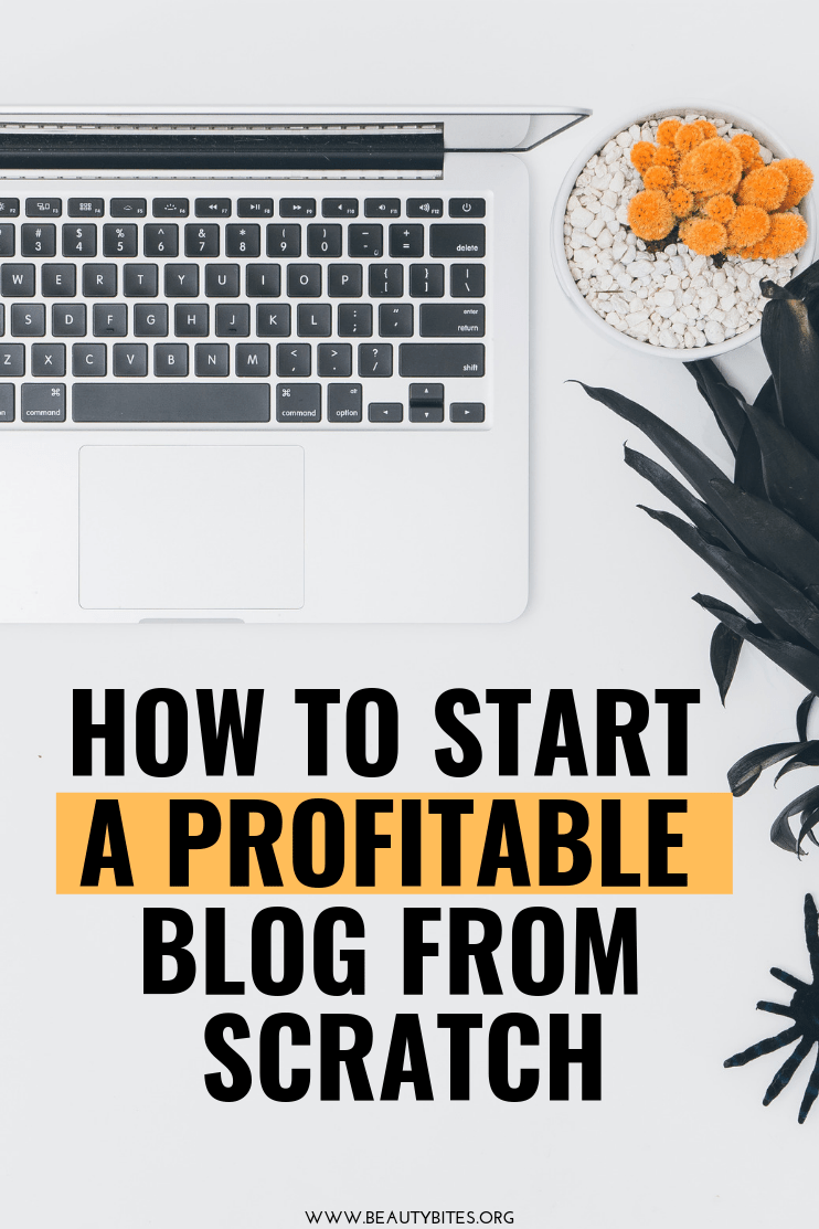 How to start a profitable blog today - use this 10-step plan that never fails. This step-by-step blogging tutorial will be helpful for beginners and beyond. If you've already started a blog, but are struggling to get traffic and make money with your blog - these blogging tips and ideas will speed things up! If you're beginner, this article is all you need to read to start off right and start making money from home in the next months. Stop reading income reports, it's time to start your very own blog! #blogging #bloggingtips