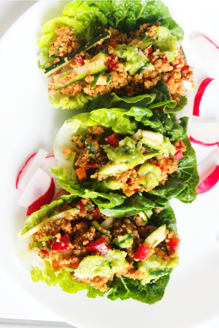 Tasty Lettuce Wraps Recipe | Vegan & Low-Carb