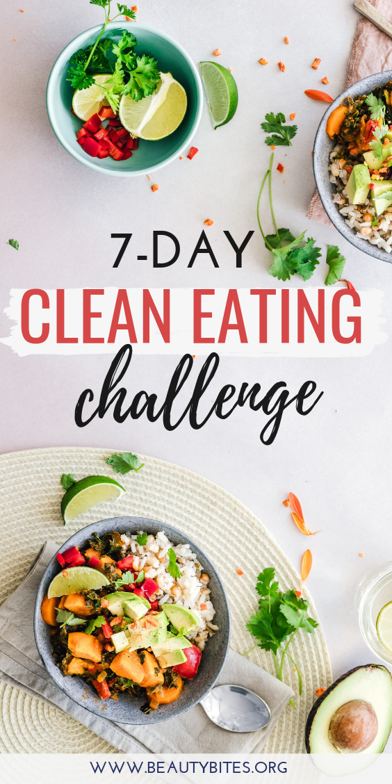 7-Day Clean Eating Challenge & Meal Plan (The First One ...