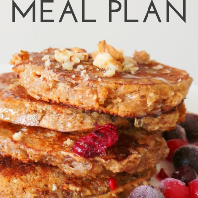 One Week Healthy Meal Plan | Challenge #2