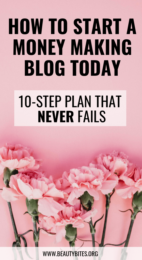 10 important steps for new bloggers! Blogging tips and ideas to help you start a blog and make money blogging!