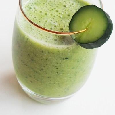 Simple Cucumber Smoothie