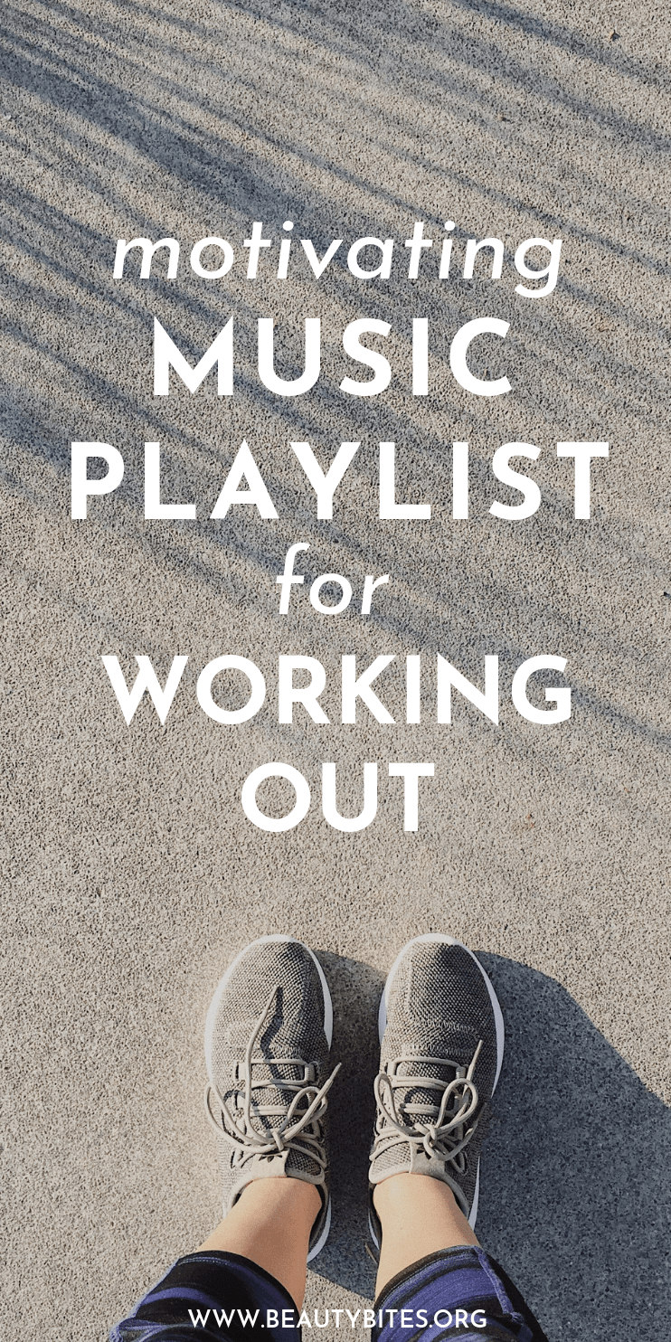 Workout Motivation! My motivating music playlist for running and working out! These songs will make exercise so much easier!