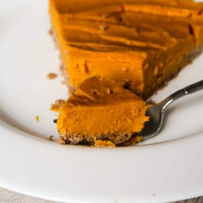 Healthy Paleo Vegan Butternut Squash Pie