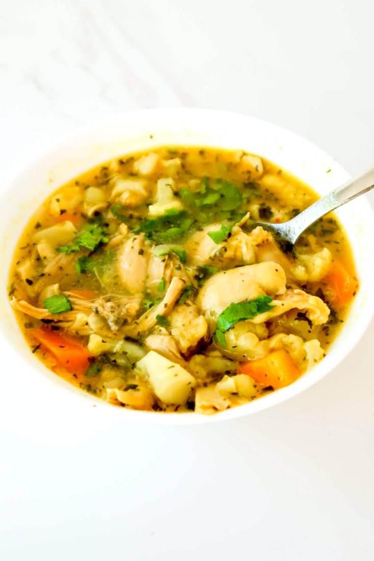 Anti-Inflammatory Chicken Soup