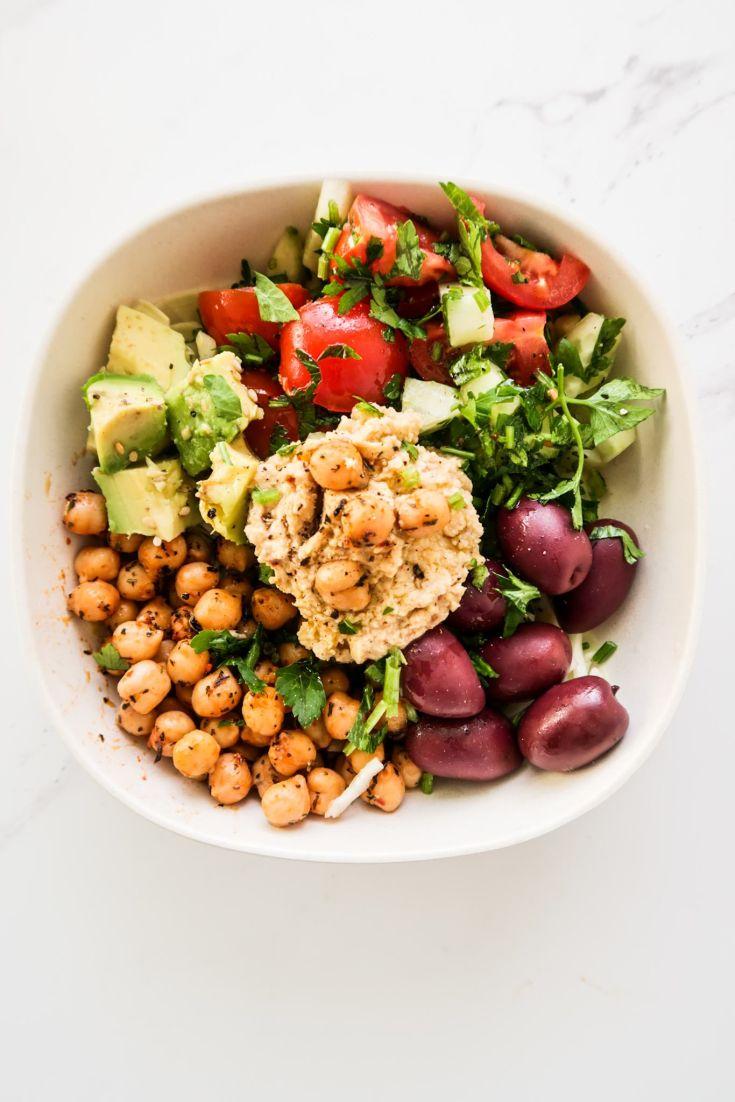 Spicy Mediterranean Lunch Bowl Recipe