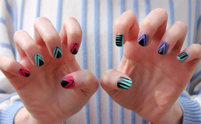 Diy Nail Art Designs 2017 Ideas Images Tutorial Step By Flowers Pics Photos Wallpapers