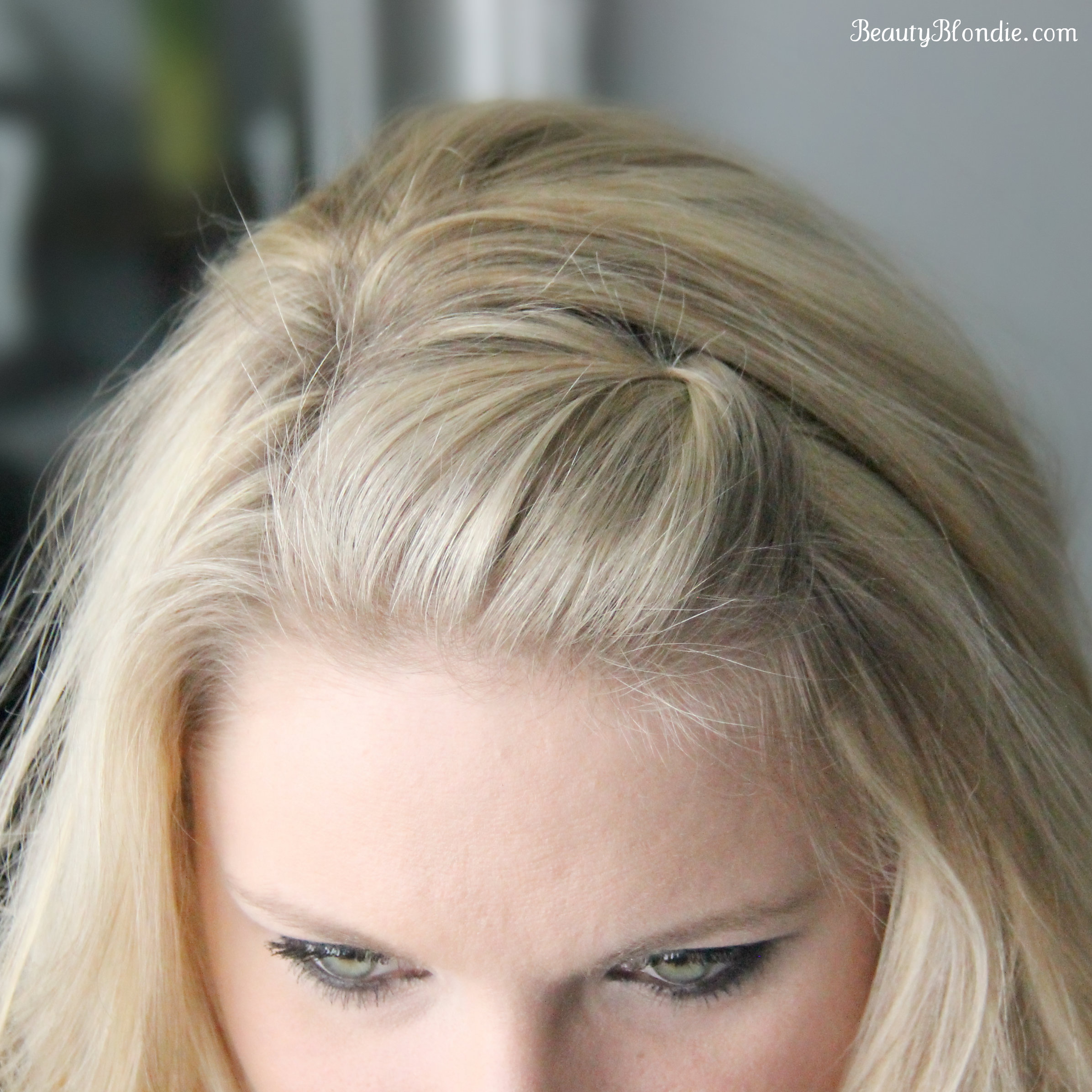 Side Bang Pin Back Poof Using Just 1 Bobby Pin Video