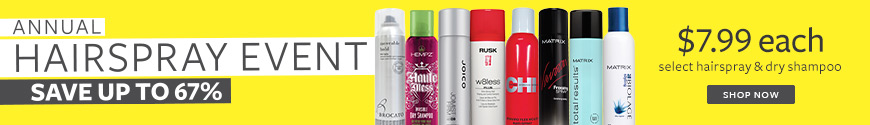 hairspray event 7.99 save up to 67% on hairspray