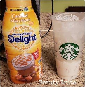 Saving Time and Money with Homemade Iced Coffee add Creamer