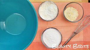 Dried Orange Peel Bath Bombs Steps 1-3