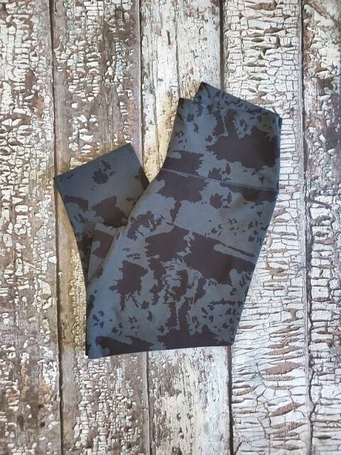 ALLways Crop Legging Black Lava Rock