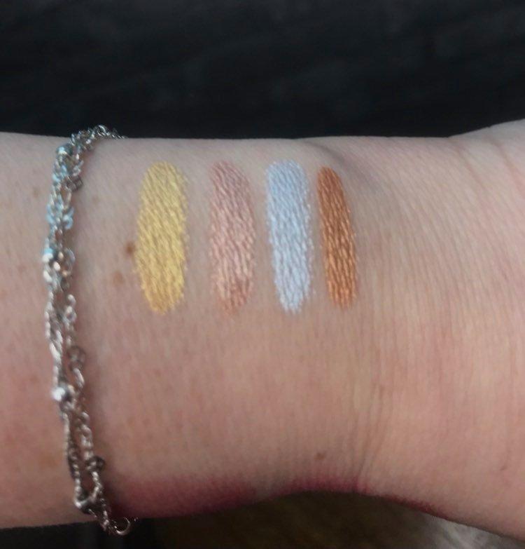 Makeup Pencils swatches