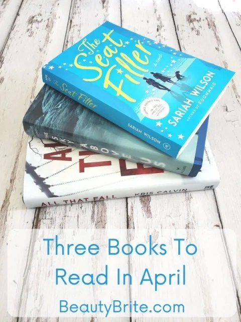 Three Books To Read In April