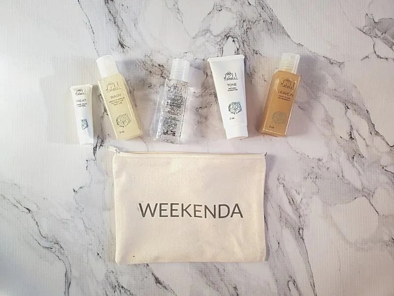 Weekenda Organic Plant-Based On the Go Hair Care