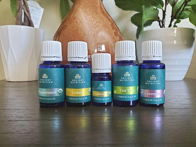 Certified Organic Essential Oils Starter Kit