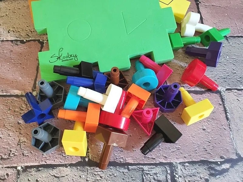 Skoolzy Shapes Puzzles - Educational Color Matching & Shape Sorter