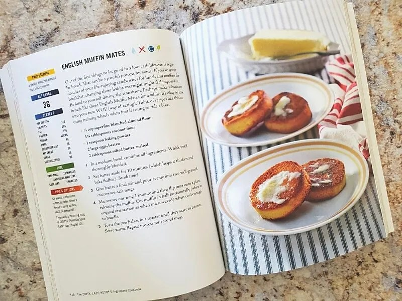 The DIRTY, LAZY, KETO 5-Ingredient Cookbook recipes