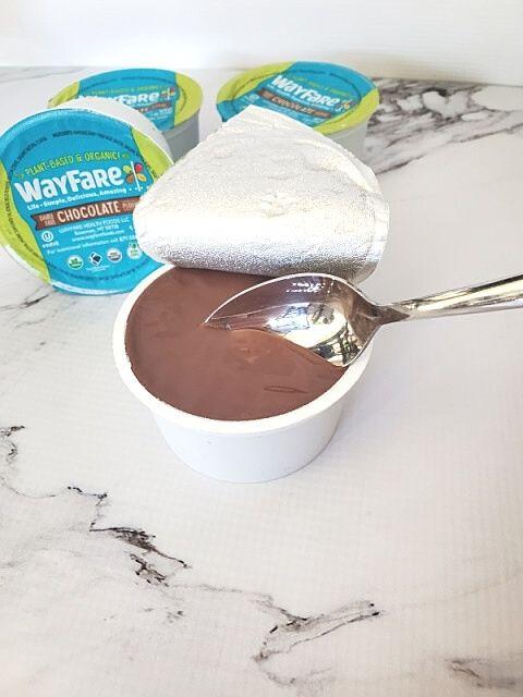 WayFare Pudding Chocolate with spoon