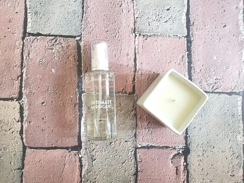 Intimate Lube and Afterglow Massage Candle
