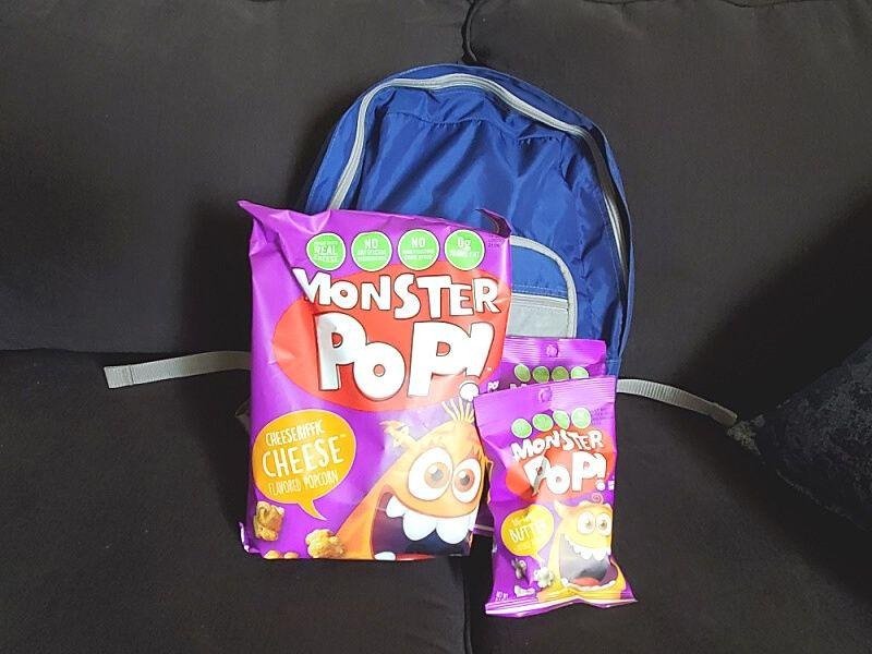 Monster Pop back to school