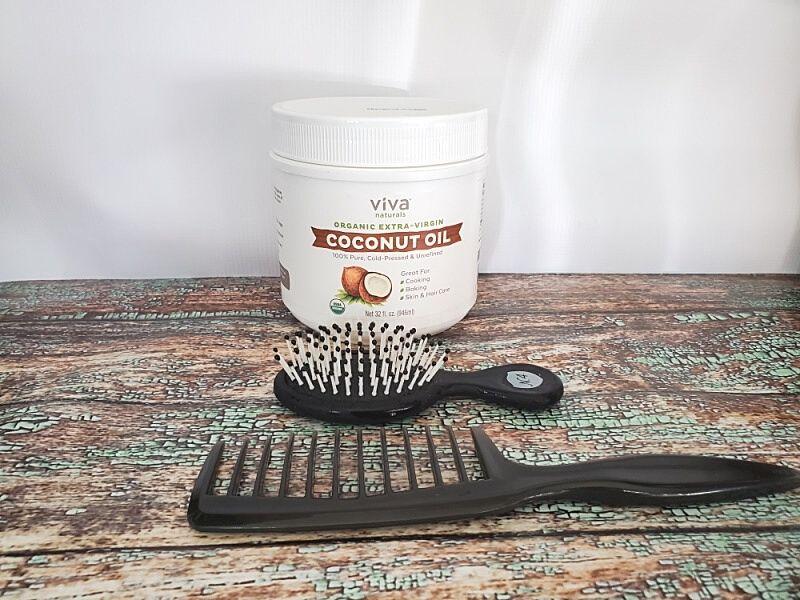 How To Use Coconut Oil For Hair - social media