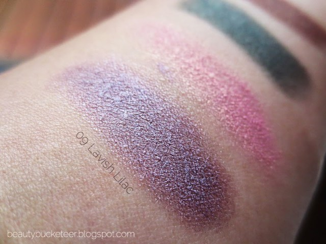 clinique chubby stick eyeshadows swatches lavish lilac