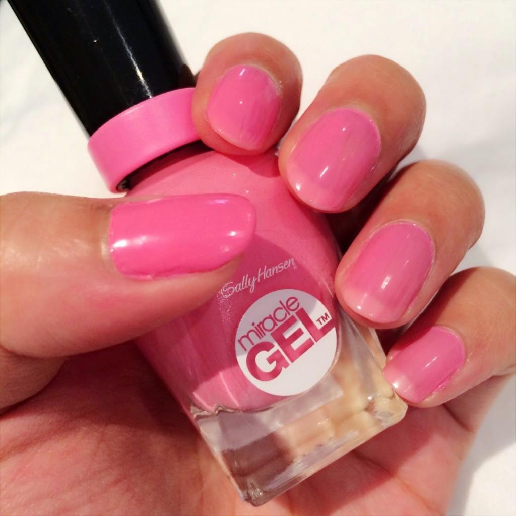 Beauty Bucketeer Review Sally Hansen Miracle Gel Set In