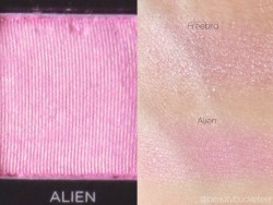 Urban Decay Vice 3 Palette Swatches (Alien)