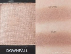 Urban Decay Vice 3 Palette Swatches (Downfall)