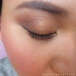 Gucci Crystal Copper Eyeshadow Quad Swatches