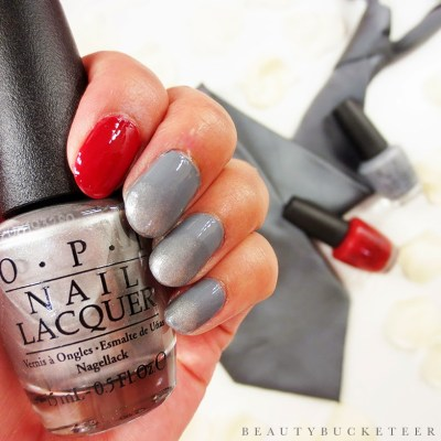 OPI Fifty Shades of Grey (Embrace The Gray, My Silk Tie, Romantically Involved)