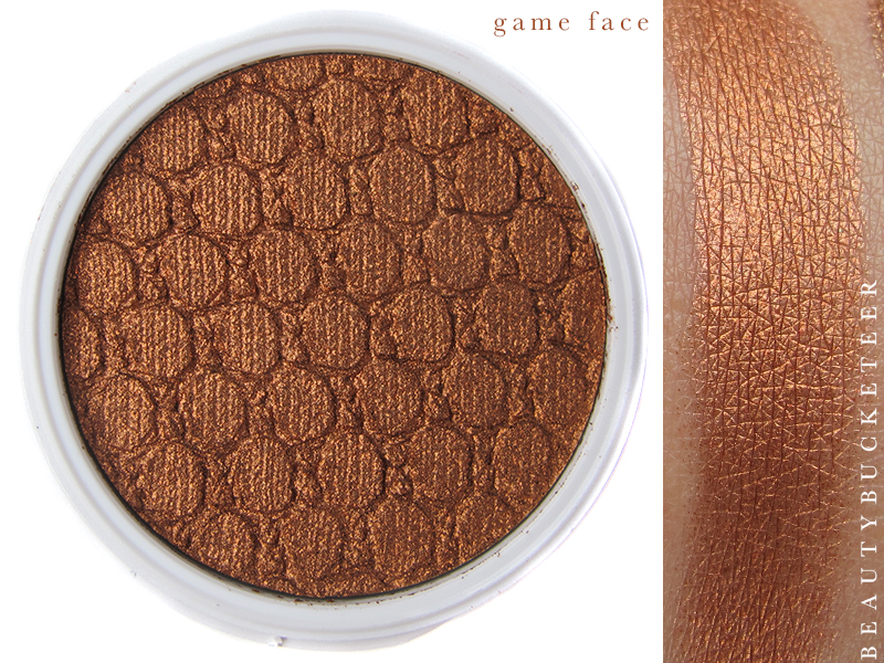 ColourPop Eyeshadows Swatch - Game Face
