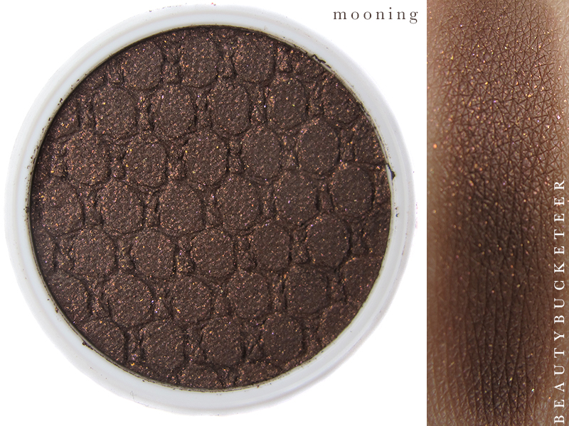 ColourPop Eyeshadows Swatch - Mooning