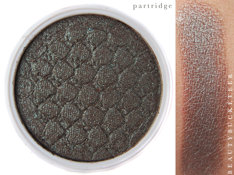 ColourPop Eyeshadows Swatch - Partridge