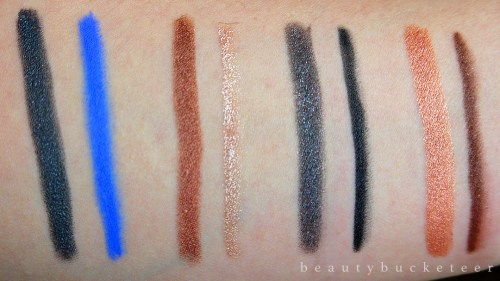 Rimmel Magnif'Eyes Double Ended Shadow & Liner Review & Swatches