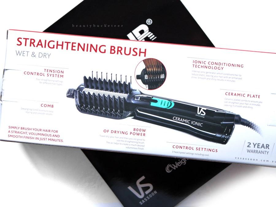 VS Sassoon Wet Dry Straightening Brush (2)