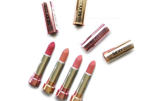 Soap and Glory Sexy Mother Pucker Lipsticks