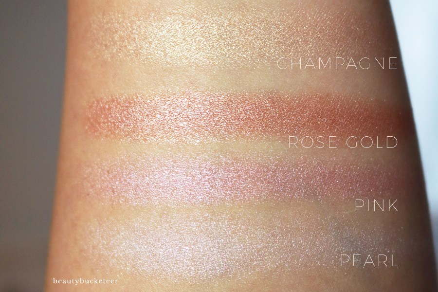 Physicians Formula Butter Highlighters Swatches