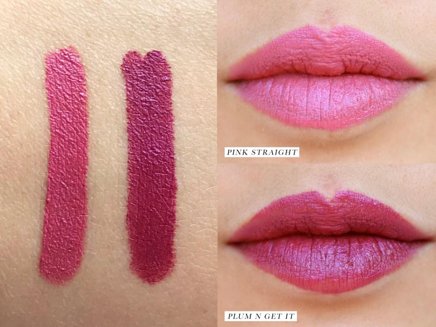 Marc Jacobs Beauty Le Marc Liquid Lip Crayon Swatches