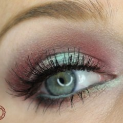 Cherry turquoise makeup using Tamanna palette