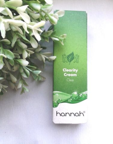 hannah Clearity Cream
