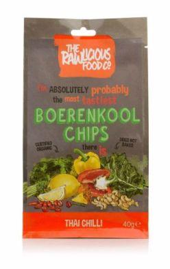 The Rawlicious Food Boerenkool Chips Thai Chilli