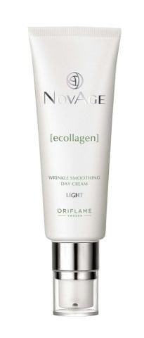 Oriflame NovAge Ecollagen Wrinkle Smoothing Day Cream Light