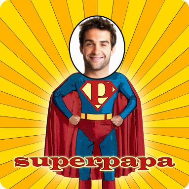 superpapa vierkant webprint