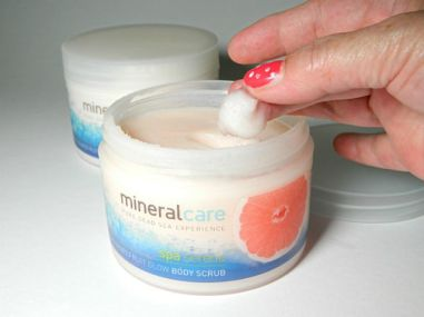 mineral care grapefruit body scrub